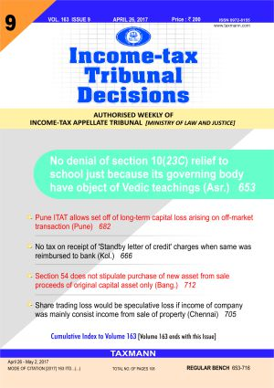 Income-tax Tribunal Decisions (Weekly) with 2 Daily e-Mail Services