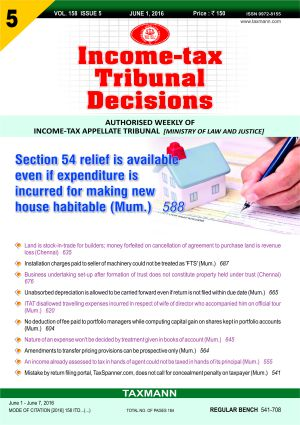 Income-tax Tribunal Decisions (Weekly)