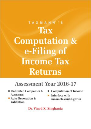 Tax Computation and e-Filing of Income Tax Returns (Multi User) 2016