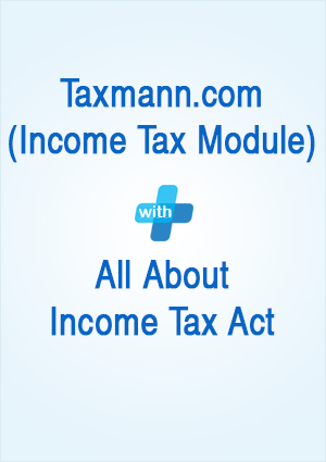 Taxmann.com (Income Tax Module) with All About Income Tax Act