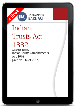 Indian Trusts Act 1882 (e-book)