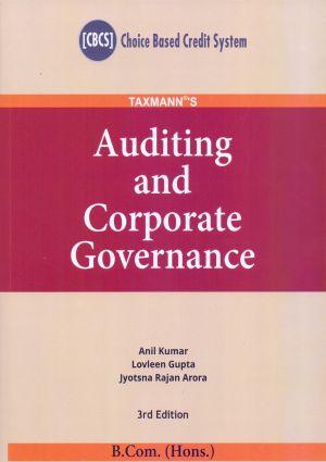 Auditing and Corporate Governance - B.com (Hons.) (e-book)