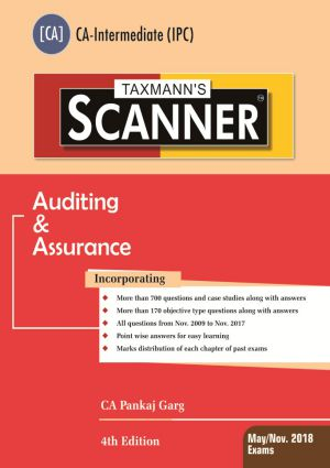 Scanner - Auditing & Assurance [CA-Intermediate (IPC)]