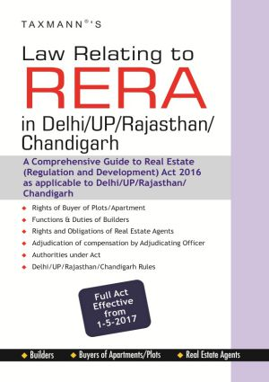 Law Relating to RERA in Delhi/UP/Rajasthan/Chandigarh