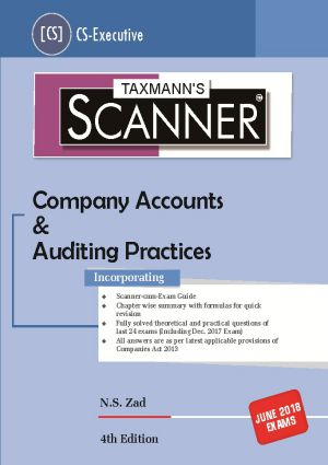 Scanner-Company Accounts & Auditing Practices (CS-Executive)
