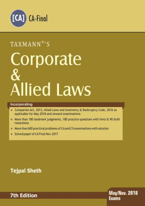 Corporate & Allied Laws (CA-Final)