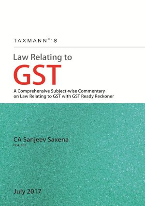 Law Relating to GST