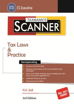 Scanner - Tax Laws & Practice