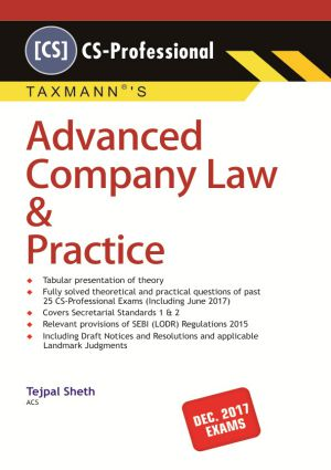 Advanced Company Law & Practice