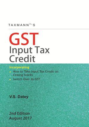 GST - Input Tax Credit