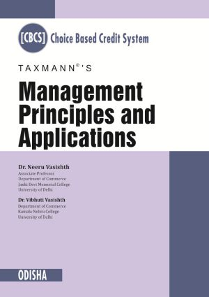 Management Principles and Applications (Odisha)