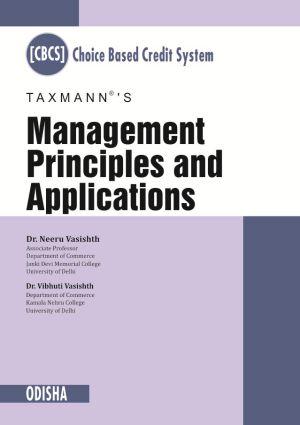 Management Principles and Applications (Odisha)