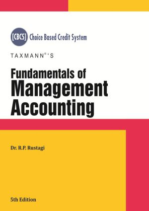 Fundamentals of Management Accounting by R.P Rustagi