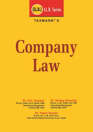 Company Law (LL.B Series) (e-book)