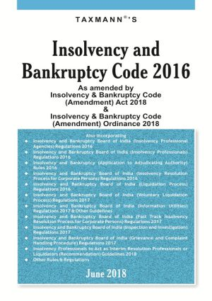 Insolvency And Bankruptcy Code 2016