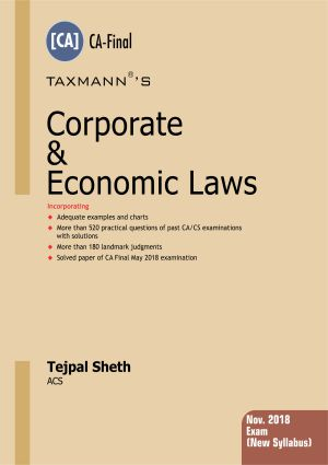 Corporate & Economic Laws - (CA- Final)