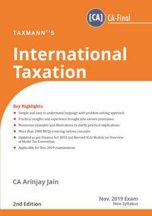 International Taxation by Arinjay Jain (CA- Final)