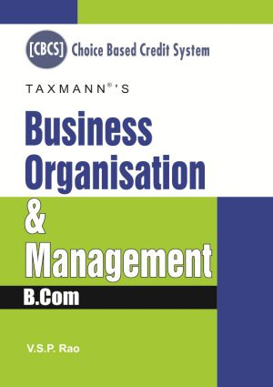 Business Organisation & Management by V.S.P Rao