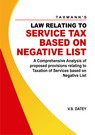 Law Relating to Service Tax Based on Negative List