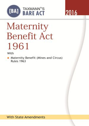 Maternity Benefit Act 1961 (e-book)