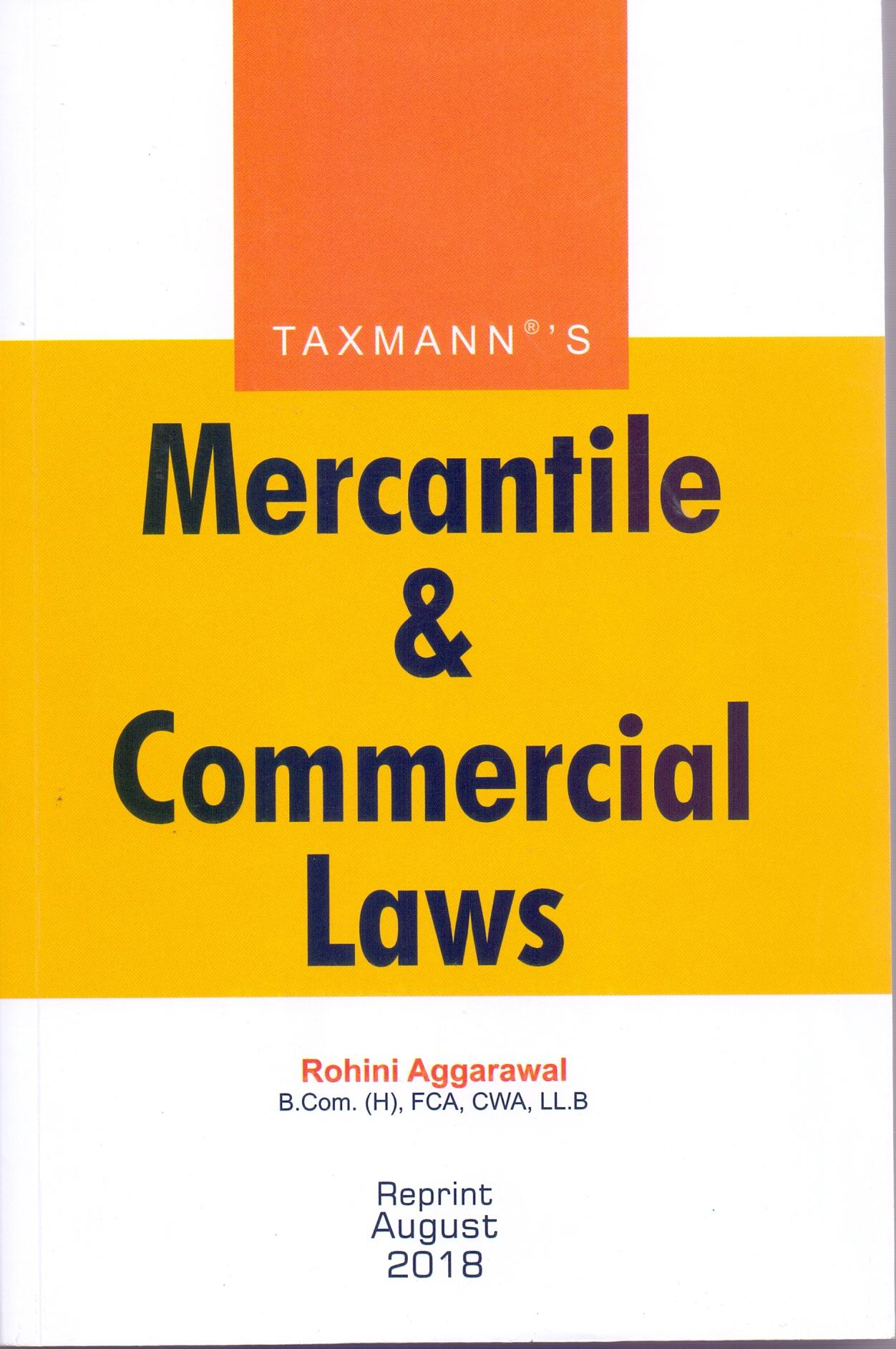 Mercantile & Commercial Laws