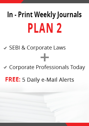 Plan 2 - SEBI & Corporate Laws and Corporate Professionals Today