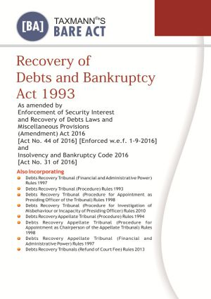 Recovery of Debts and Bankruptcy Act 1993 (e-book)