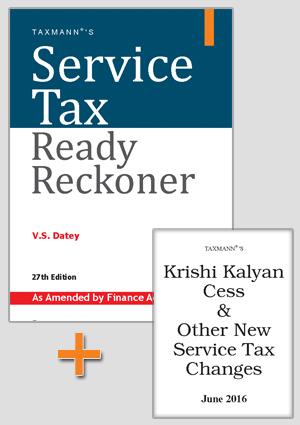 Service Tax Ready Reckoner