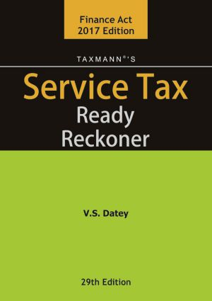Service Tax Ready Reckoner
