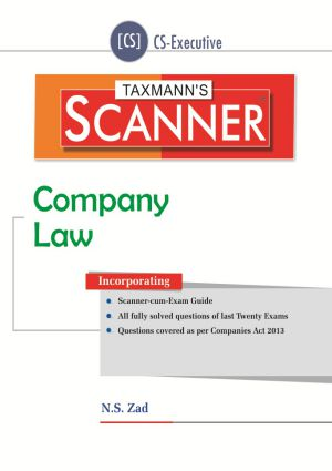 Scanner Company Law