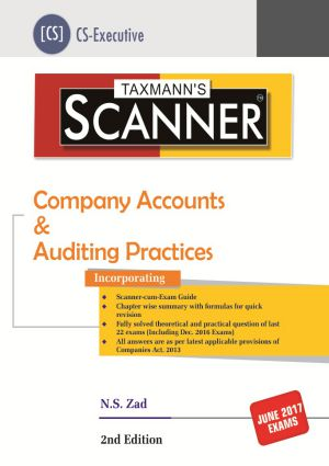 Scanner - Company Accounts & Auditing Practices