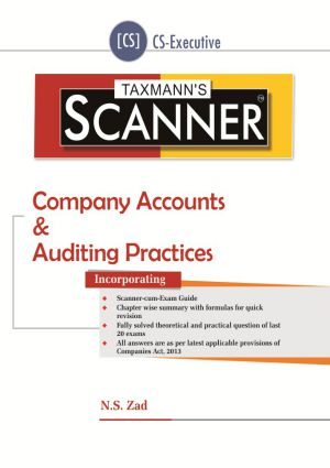 Scanner - Company Accounts & Auditing Practices (CS-Executive)