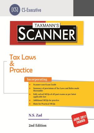 Scanner - Tax Laws & Practice (CS-Executive)