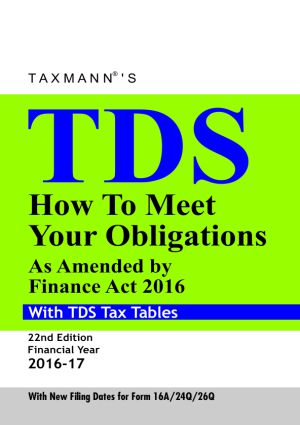 TDS How to Meet your Obligations