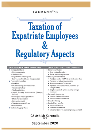 Taxation of Expatriate Employees & Regulatory Aspects