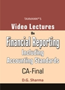 Video Lectures on Financial Reporting Including Accounting Standards (CA-Final)
