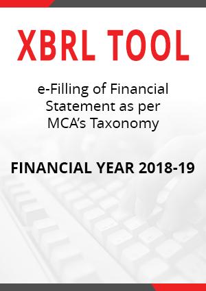 XBRL Tool (Singleuser) 2019