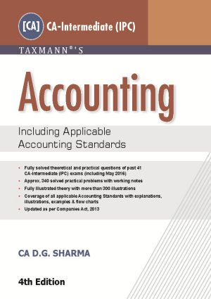 Accounting [CA-Intermediate (IPC) Group I] by CA DG Sharma