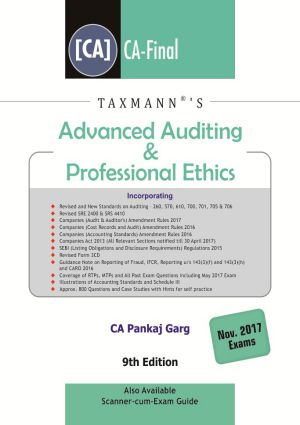 Advanced Auditing & Professional Ethics (CA-Final) by Pankaj Garg