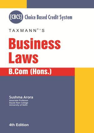 Business Laws -B.Com (Hons.)