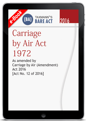 Carriage by Air Act 1972 (ebook)