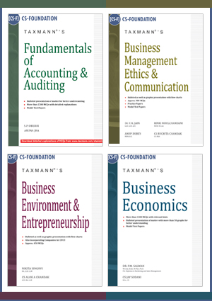 CS-FOUNDATION (SET OF 4 BOOKS)