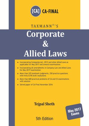 Corporate & Allied Laws