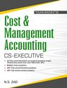 Cost and Management Accounting (CS-Executive) by N S Zad