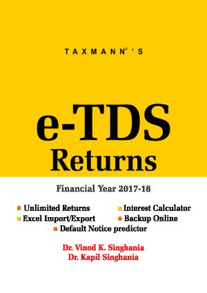 e-TDS Returns (Multi User) (F. Y. 2017-18)