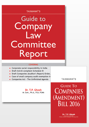 Guide to Company Law Committee Report with FREE Supplement Guide to Companies (Amendment) Bill 2016