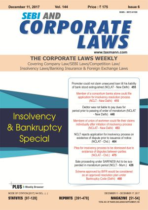 SEBI and Corporate Laws - The Corporate Laws (Weekly) with 3 Daily e-Mail Services