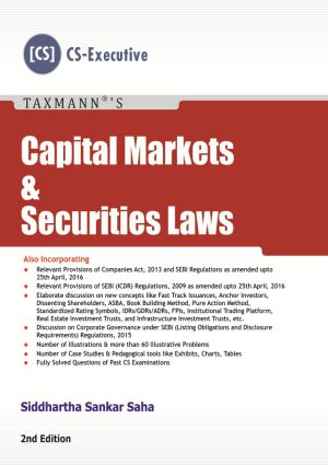 Capital Markets & Securities Laws