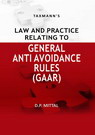 Law and Practice Relating to General Anti  Avoidance Rules (GAAR)