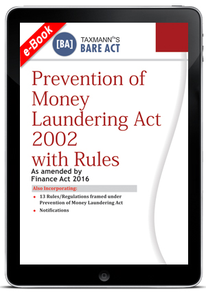 Prevention of Money Laundering Act 2002 with Rules (e-book)